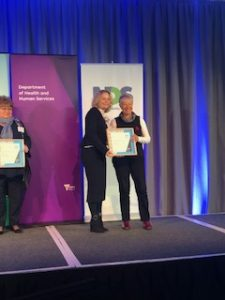 Hillary Johnson wins Honor Roll at the Victorian Disability Awards