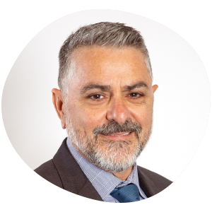 Serge Sardo, GradDipPsych, MBA, MAICD Scope Board of Directors Member, People and Governance Committee Member, Risk and Audit Committee