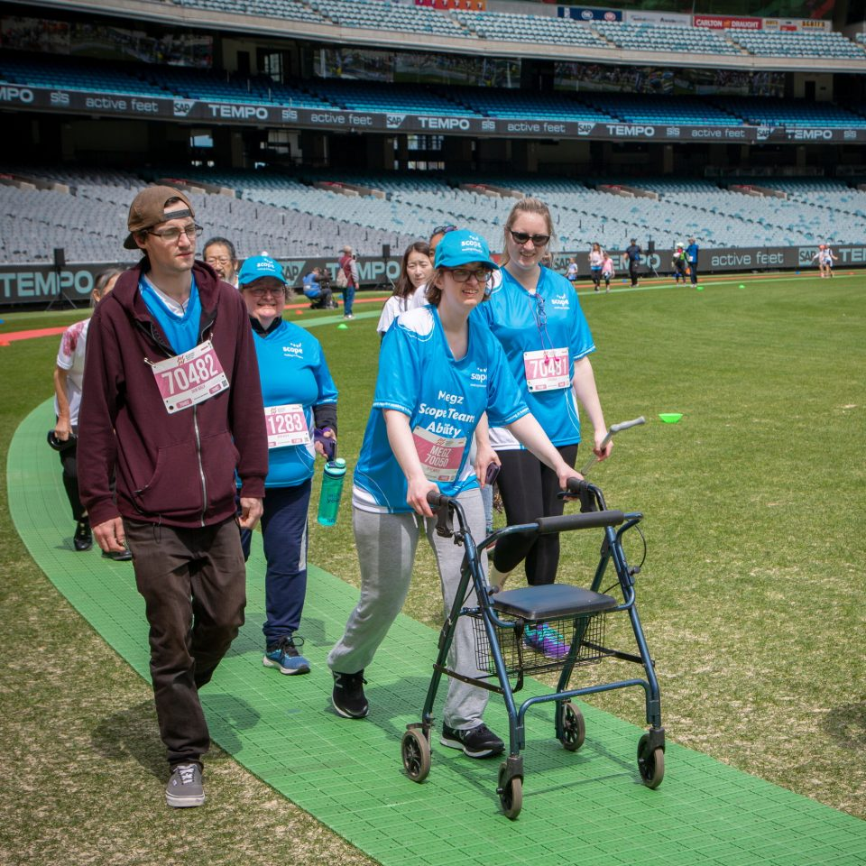 Scope Team Ability at the Melbourne Marathon 2019