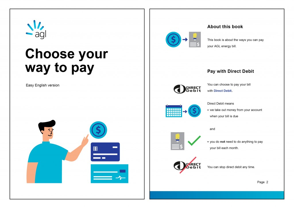 AGL - Choose your way to pay